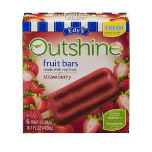Outshine Whole Fruit Bar - Strawberry