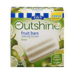 Outshine Whole Fruit Bar - Lime