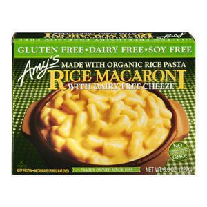 Amys Gluten and Dairy Free Mac & Cheese