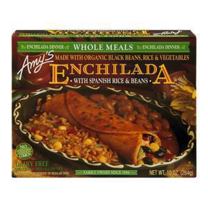 Amys Black Bean Enchilada Whole Meal