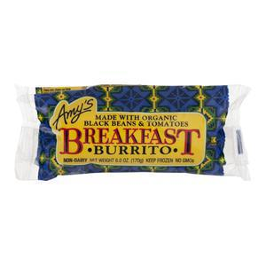 Amys Burrito - Breakfast with Black Beans