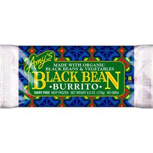 Amys Burrito - Black Bean & Veggie