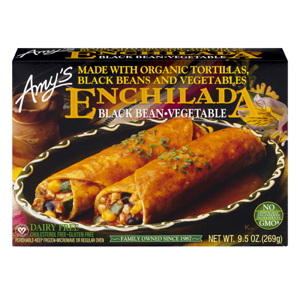 Amys Black Bean Enchilada