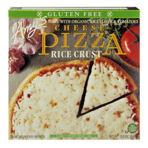 Amys Pizza - Rice Crust with Cheese