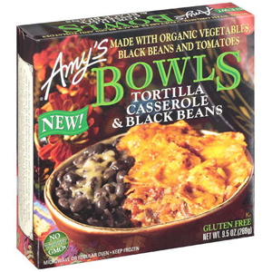Amys Bowls - Tortilla Casserole & Black Beans