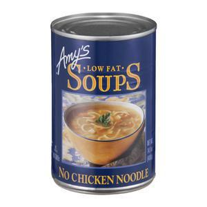 Amys Soup - No Chicken Noodle