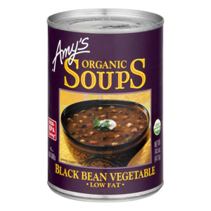 Amys Soup - Black Bean Vegetable