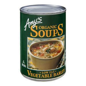 Amys Soup - Vegetable Barley