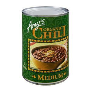 Amys Organic Chili Canned - Medium
