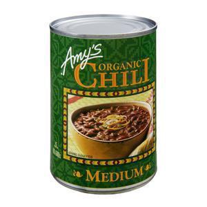 Amys Organic Chili Canned - Medium