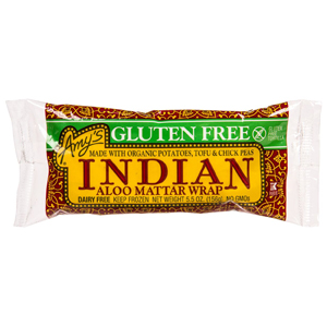 Amys Indian Aloo Mattar Wrap