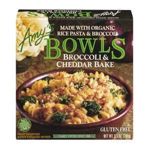 Amys Bowls - Gluten Free Broccoli Cheddar
