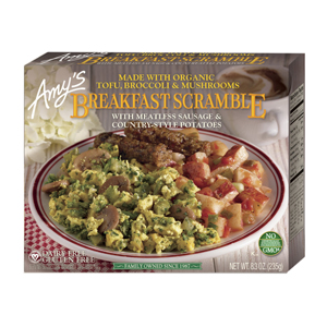 Amys Breakfast Scramble - Meatless Sausage Country Potato