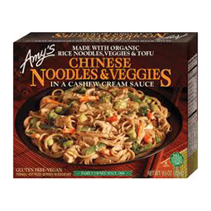 Amys Chinese Noodles & Veg in Cashew Cream Sauce