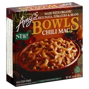 Amys Bowls - Gluten Free Chili Mac