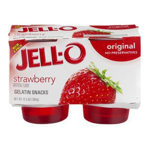 Jello Strawberry Gelatin