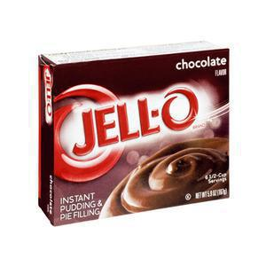 Jello Instant Pudding Mix Chocolate