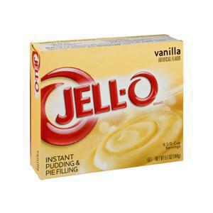 Jello Instant Pudding Mix Vanilla