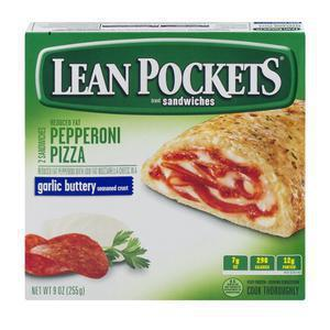 Lean Pockets Pepperoni Pizza