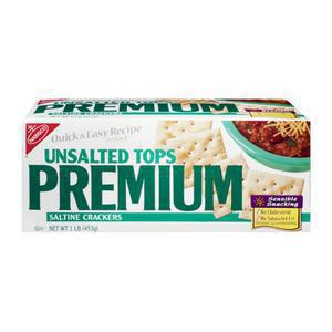 Premium Unsalted Saltines