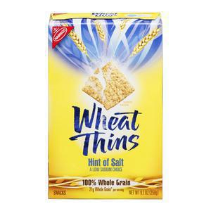 Wheat Thins Cracker - Low Sodium