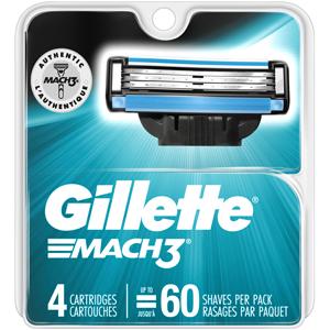 Gillette Shaving - Mach 3 Refill Blades
