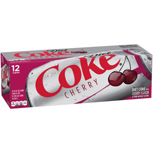 Diet Coke - Feisty Cherry