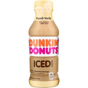 Dunkin Donuts Iced Coffee - Vanilla