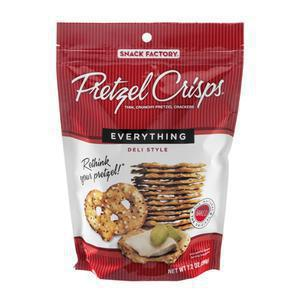 Pretzel Crisps - Everything