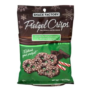 Pretzel Crisps - Dark Choc Peppermint