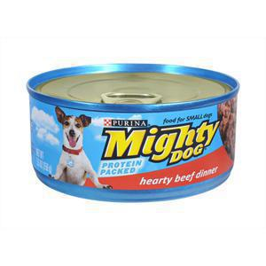 Mighty Dog Canned Beef