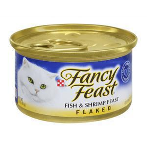 Fancy Feast Cat - Flaked Fish and Shrimp Feast