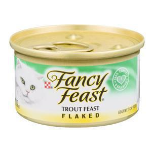 Fancy Feast Cat - Flaked Trout