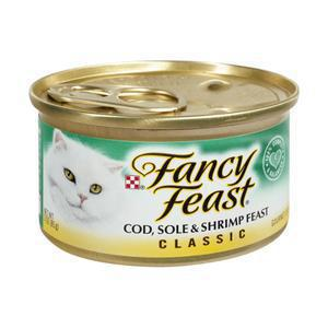 Fancy Feast Cat - Cod & Sole