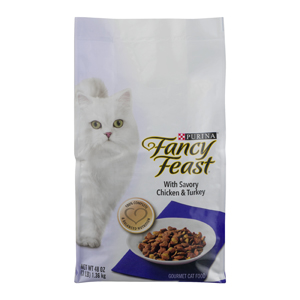Purina Fancy Feast Dry Cat Food - Chicken & Turkey