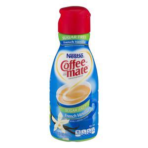 Coffee Mate French Vanilla Sugar Free