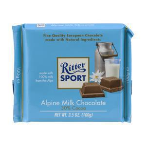Ritter Alpine Milk Chocolate