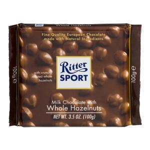 Ritter Whole Hazelnuts Milk Chocolate