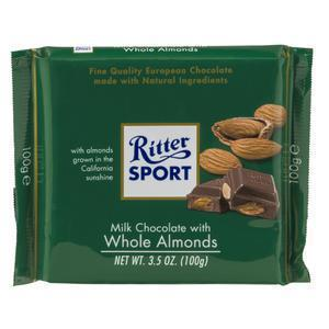 Ritter Whole Almonds Milk Chocolate