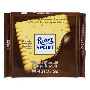 Ritter Milk Chocolate Butter Biscuit