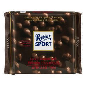 Ritter Whole Hazelnuts Dark Chocolate