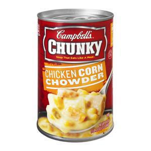 Chunky Campbells Chicken Corn Chowder