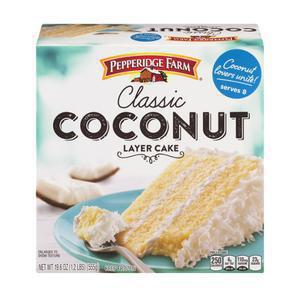 Pepperidge Farm  Coconut Cake