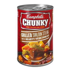 Chunky Campbells Sirloin Steak Soup