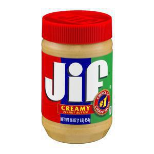 Jif Peanut Butter - Creamy