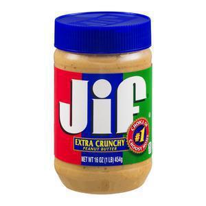 Jif Peanut Butter - Crunchy