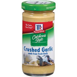 McCormick Crushed Garlic in Jar