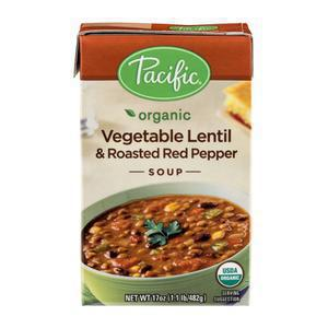 Pacific Soup - Vegetable Lentil