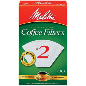 Melitta #2 Cone Coffee Filters