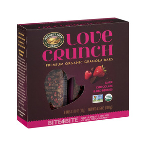 Natures Path Love Crunch BARS - Dark Chocolate Red Berries